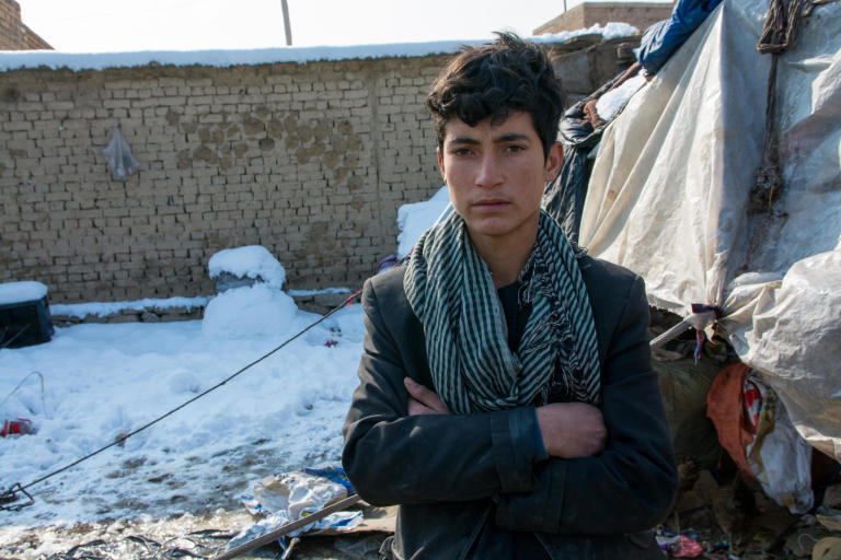 "Naqibullah, 13, fled Kunduz with his eleven siblings two and half years ago, when the Kunduz provincial city was fallen to the Taliban.  Naqib and his family now live in a shelter was built on a rented yard by NRC. His family was provided with protection through secure tenure for a defined period of time and essential household items. His family was provided with access to safe household latrines and hand washing facilities and have access to sanitary latrines and received hygiene promotion trainings. But Naqib and none of his siblings are now having the chance to attend school. Naqib was in second class when his family was forced to return to Afghanistan. It's been four years now that he has been missed out classes.  Instead of attending class, he drives through the city with his bicycle and collecting scraps to help with family's financial situation.  ""There is no hope and I don't have any future if I continue living in this situation. I don't know about my future. Maybe I will simply be a laborer.""  Photo; NRC/Enayatullah Azad"