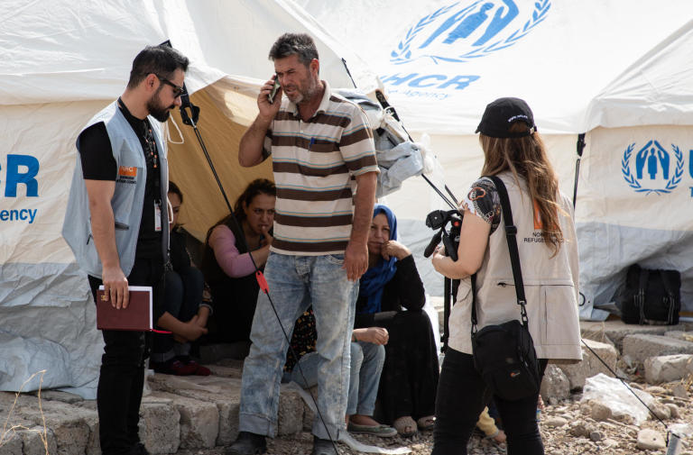 Most of the Syrian refugees arriving in Bardarsh camp are children de facto put out of school because of the war.   NRC education specialists are assessing education needs in the camp to be able to start emergency education response in the coming weeks.